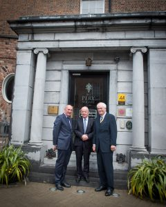 No repro fee- limerick civic trust - 19-05-2017  From Left to Right:  David O'Brien - CEO / Limerick Civic Trust, Professor Des Fitzgerald -  President University of Limerick, Brian McLoughlin - Chairman / Limerick Civic Trust, Photo credit Shauna Kennedy
