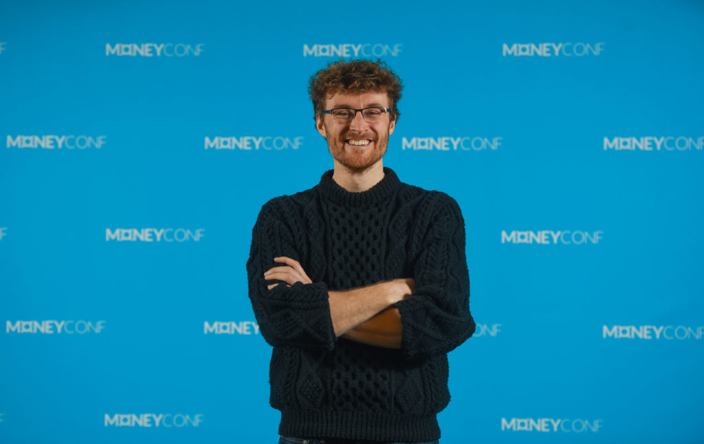 Paddy Cosgrave speaking at Limerick Civic Trust Lecture Series
